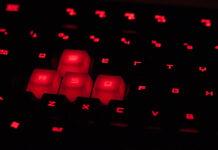 Myszka i klawiatura dla gracza